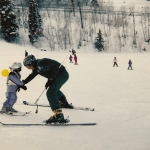 Whitney Tallman Skiing 3 years Old | Skiing in Park City, Utah