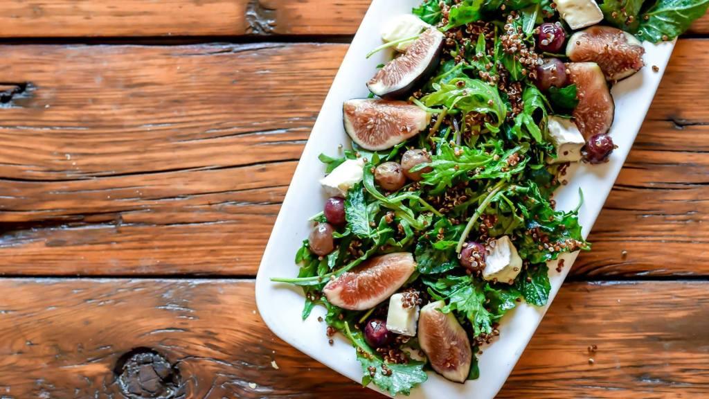 Salad served at Deer Valley's Royal Street Cafe