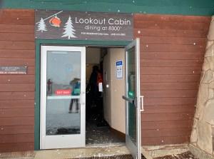 Lookout Cabin Park City Entrance