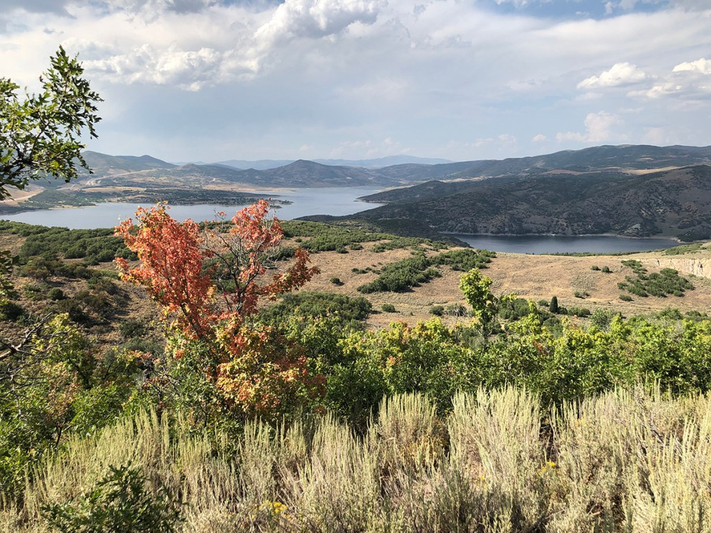 Jordanelle Reservoir from Hwy 32
