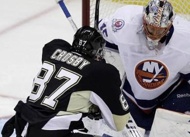 Sidney Crosvy vs Islanders