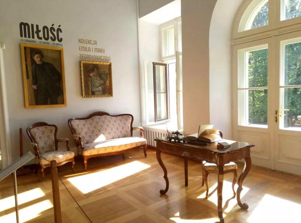 Внутреннее убранство музея в Маленьком Вавеле