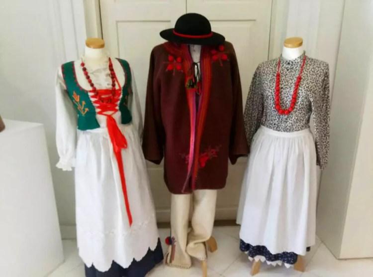 Польские национальные костюмы в Sucha Bezkidzka