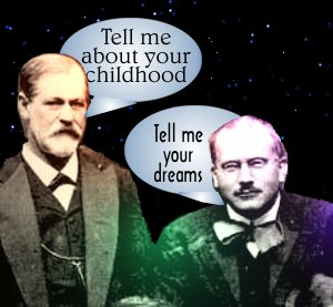 Image result for Carl Jung and Freud