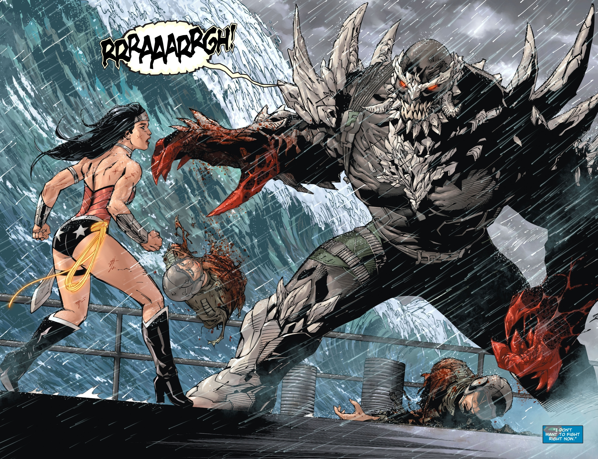 Superman Wonder Woman 1 spoilers art 1 doomsday Internet Collectively Sighs: SUPERMAN Is Going To Die? Again?