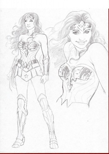 Wonder Woman concept art cover DC Rebirth 2