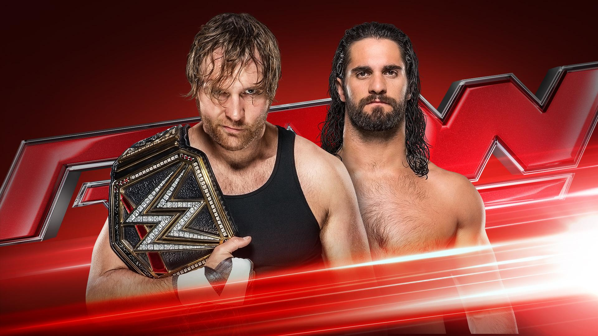 Image result for Dean Ambrose vs. Seth Rollins - Raw July 18th: WWE Championship Match