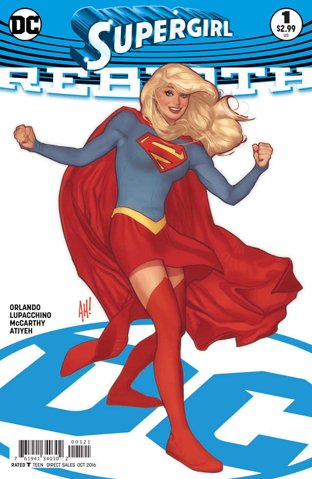 Image result for supergirl rebirth