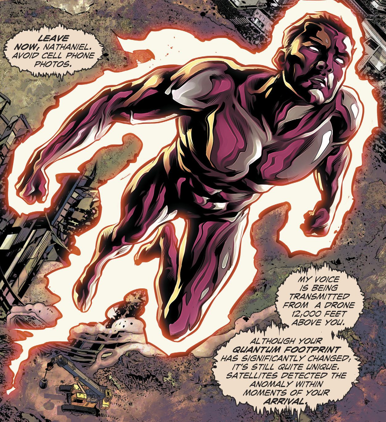 Image result for fall and rise of captain atom #3