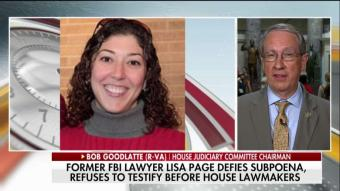 Goodlatte: Page Will Be Held in Contempt of Congress If She Doesn't Comply With Subpoena