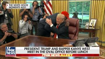 'We Have the Right to Bear Arms': Kanye Talks Guns, Chicago Violence With Trump