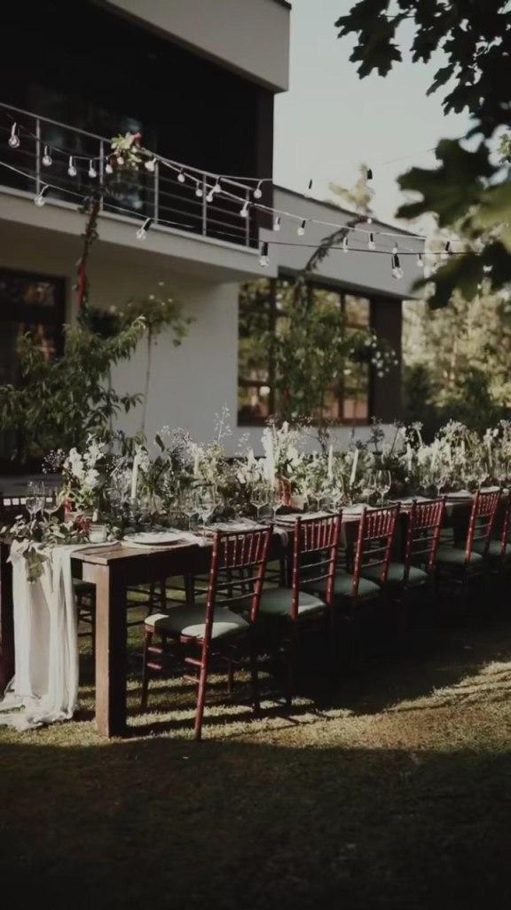 Вечеря в саду: Санта Дімопулос влаштувала званий вечір для друзів