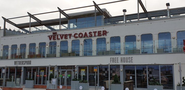 Pub crawl blackpool - velvet coaster