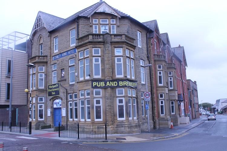 Brew room - Blackpool Pub Run