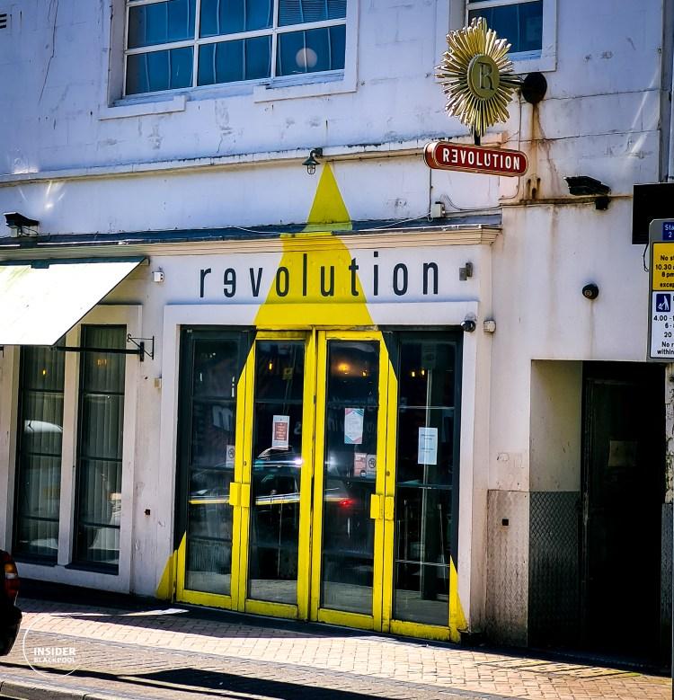 Revolution bar Blackpool