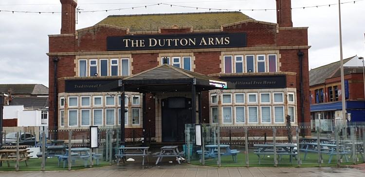 Blackpool pub - dutton arms