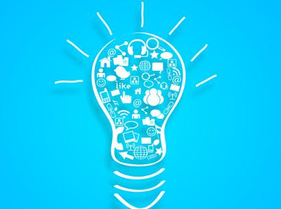 idea, business, cloud, lightbulb