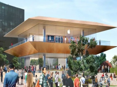 Apple Fed Square store
