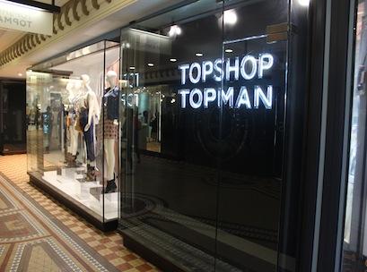 Topshop QVB