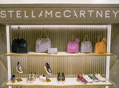 MILAN, ITALY - CIRCA NOVEMBER, 2017: Stella McCartney bags and s
