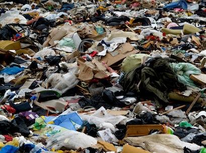 garbage, tip, rubbish