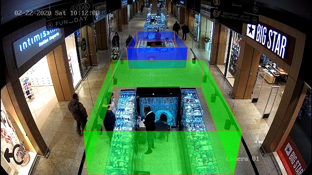 Image of people in a shopping centre