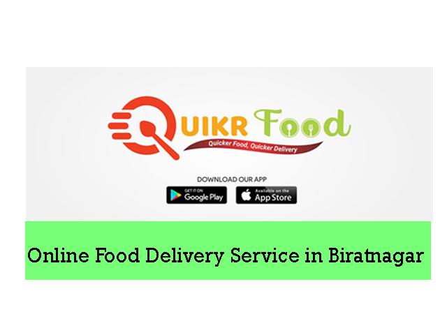 QuikrFood |Online Food Delivery Service in Biratnagar