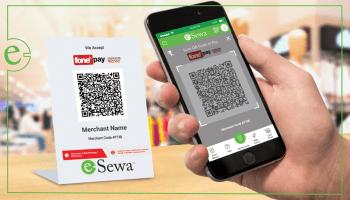 Reward through the QR code transactions you made | Esewa