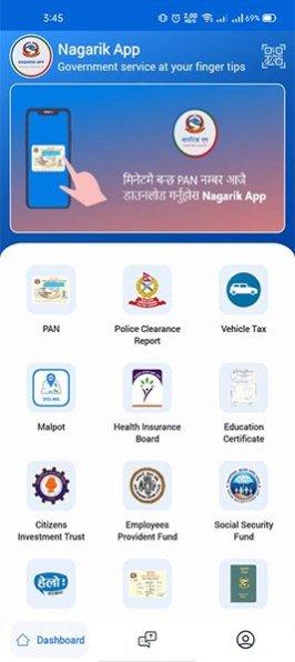 Pay Your Vehicle Tax Online Through the Nagarik app