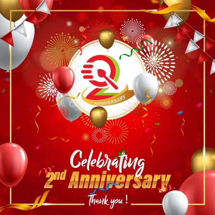Quikrfood Celebrates Second Anniversary Offering exiciting Giveaways