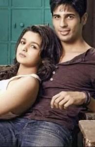 Sidharth Malhotra and her gf Alia bhatt photo