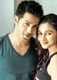 Varun Dhawan and her girlfriend alia bhatt