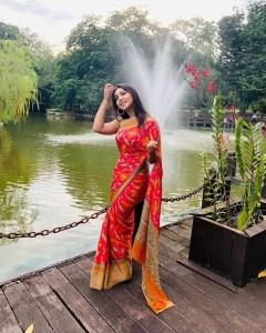 Prova Saree photo 2020