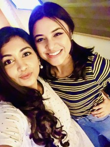 Bangladeshi actress Sporshia & Tasnuva Tisha photo