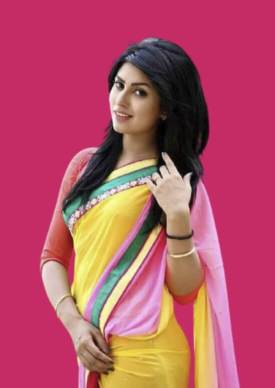 Anika Kabir Shokh saree photo