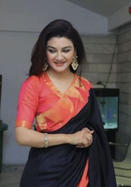 Joya Ahsan saree photo