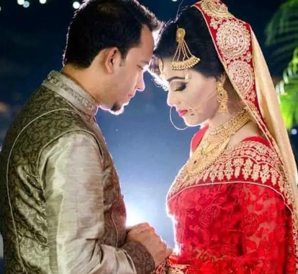 Mahiya Mahi with her Husband