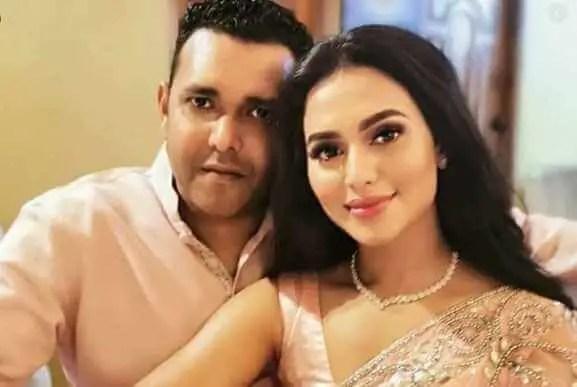 Nusrat Faria with her Boyfriend
