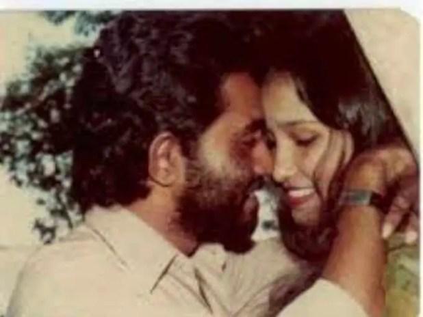 Taslima Nasrin with her 1st Husband