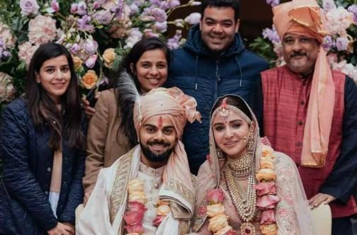 Anushka Sharma wedding Picture