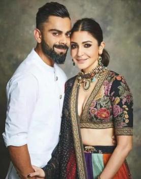 Anushka Sharma with Virat Kohli Picture