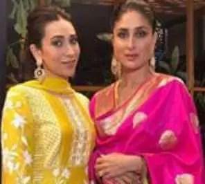 Kareena Kapoor with her sister