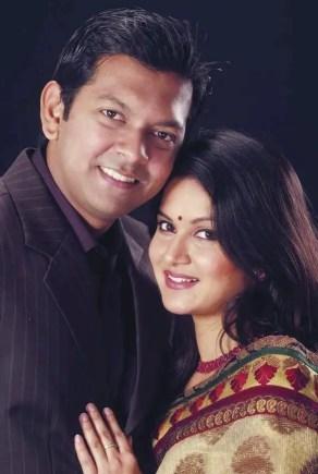 Mithila and tahsan romantic photo