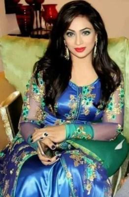 Sadika Parvin Popy Blue dress picture