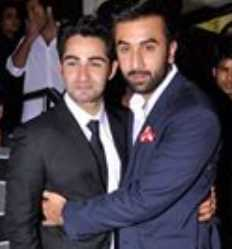 Ranbir Kapoor with Armaan Jain