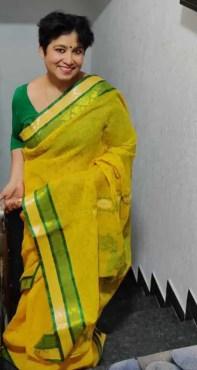 Taslima Nasrin Saree Photo