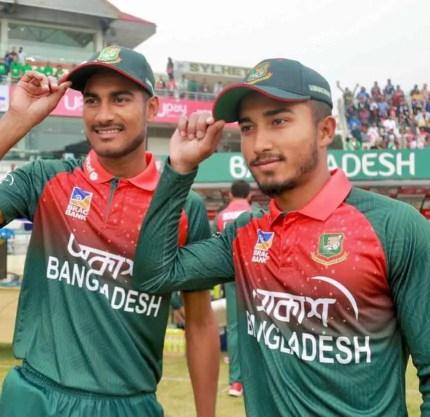 Afif Hossain with Mohammad Naim Shaikh