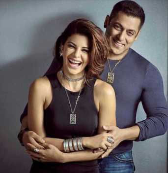 Jacqueline Fernandez with Salman Khan