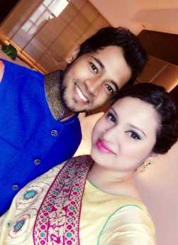 Musfipur Rahim with his Wife