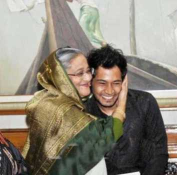Musfipur Rahim with Sheikh Hasina(PM BD)